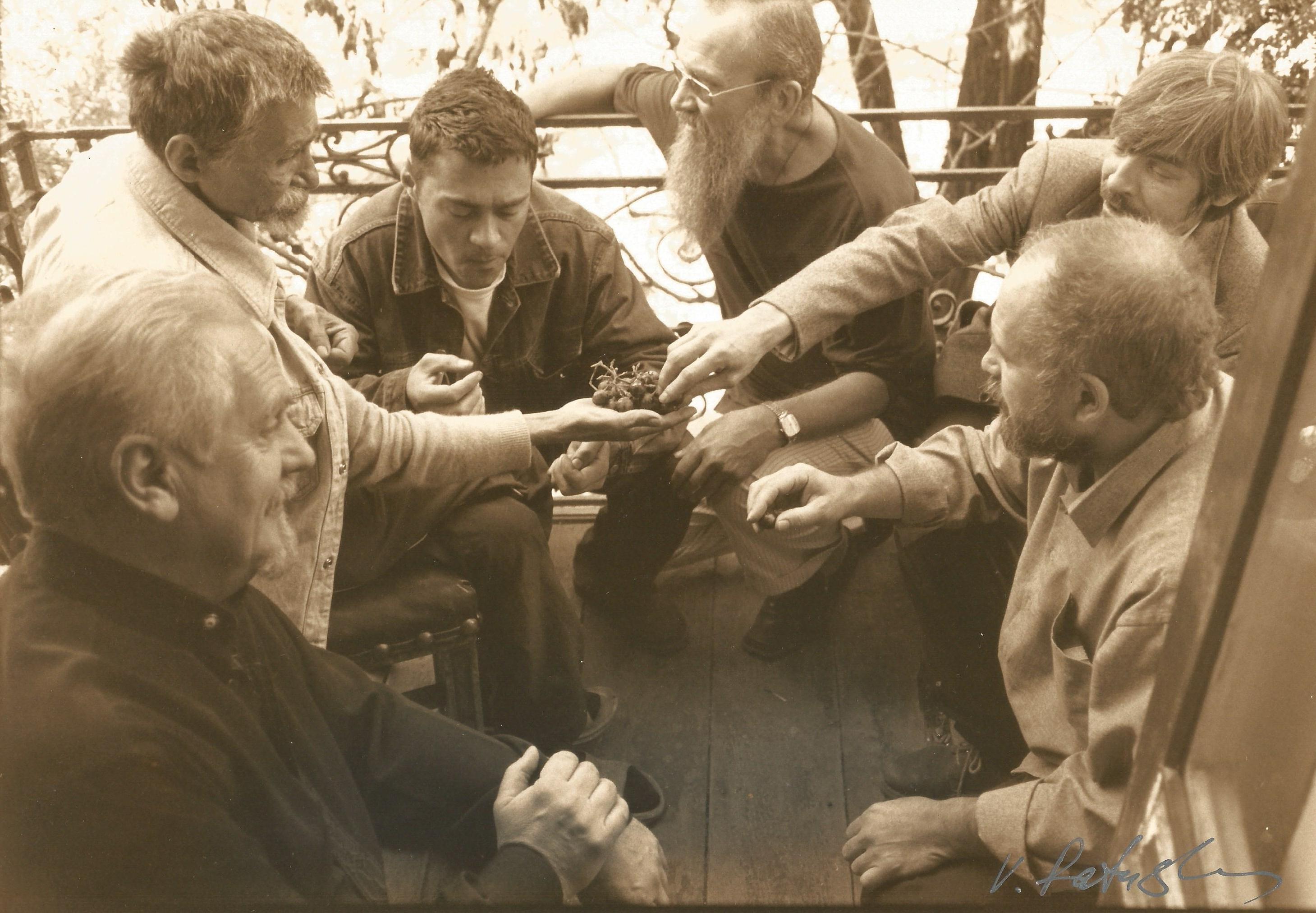 Фотограф — Виктор Ратушный. Валентин Хрущ с друзьями