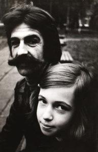 Александр Ануфриев с дочкой Мариной. Фотография