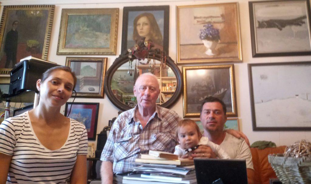 Кохрихт Феликс и семья Хрущей