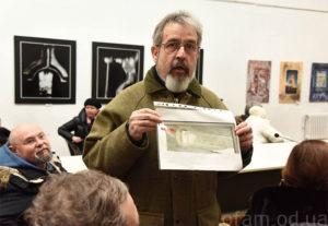 Фото со встречи: А. Синельников