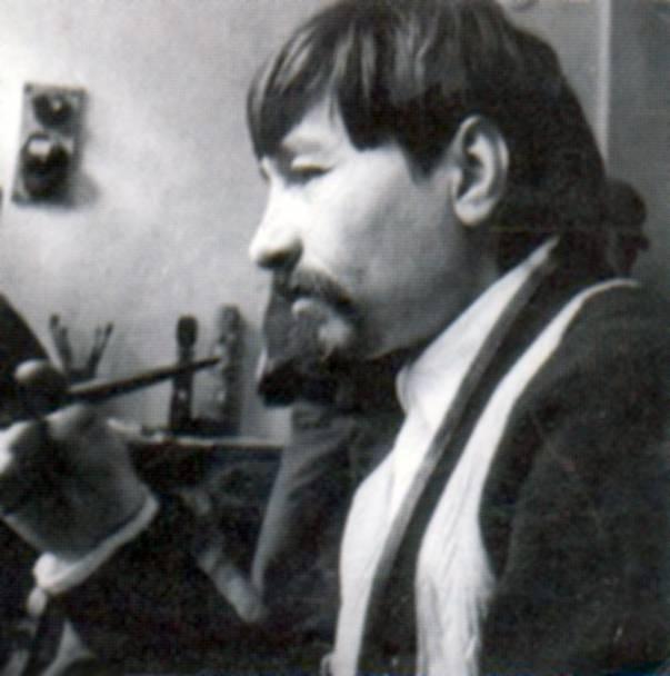 Валентин Хрущ. Фотография художника из Одессы. Четвертая