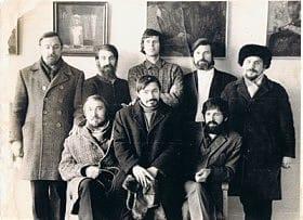 Одесские художники с Валентином Хрущом и Александром Ануфриевым