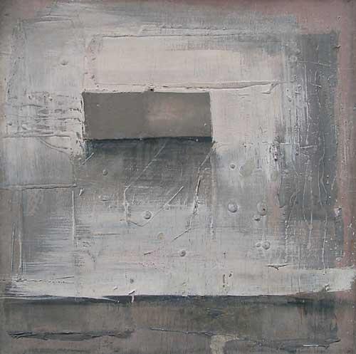 В. Хрущ, «Осенний мотив», 1982 г., 45х45, ф/м., Ф/м. МСИО