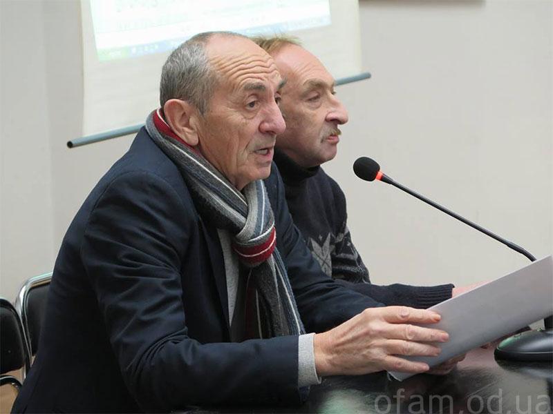 Виталий Абрамов и Леонид Войцехов. Фото: А.Тарасенко
