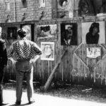 Заборная выставка