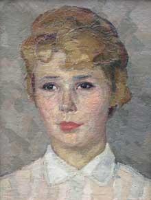 Станислав Сычев. Женский портрет