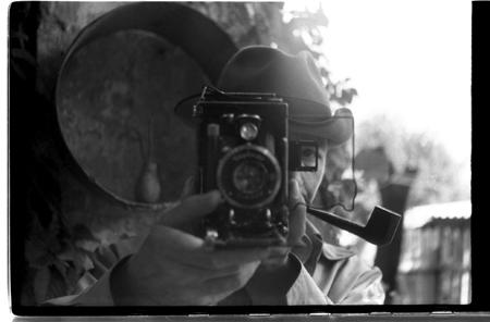 В.Хрущ - фото-автопортрет. Архив В.Рябченко