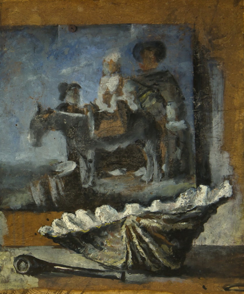 Работа Валентина Хруща -«Картина», натюрморт , 44х51