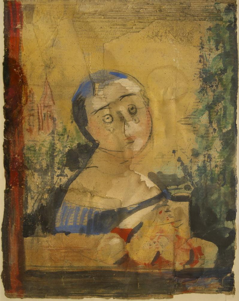 Работа Валентина Хруща - «Сусанна», портрет, 54х71, из частной коллекции Сергея Костина