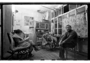 Посиделки у Хруща. Архив В. Рябченко. Фотография вторая